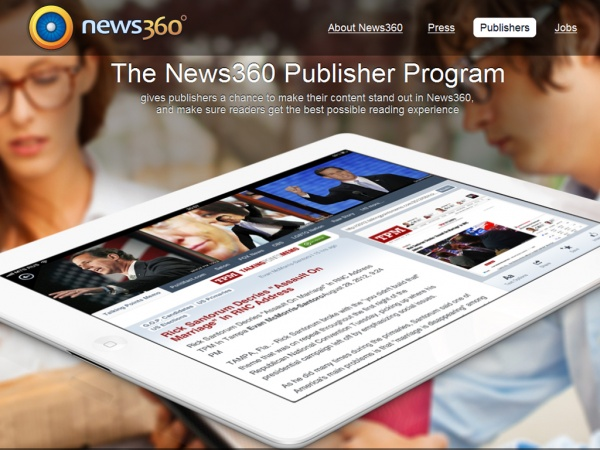Introducing: The News360 Publisher Program