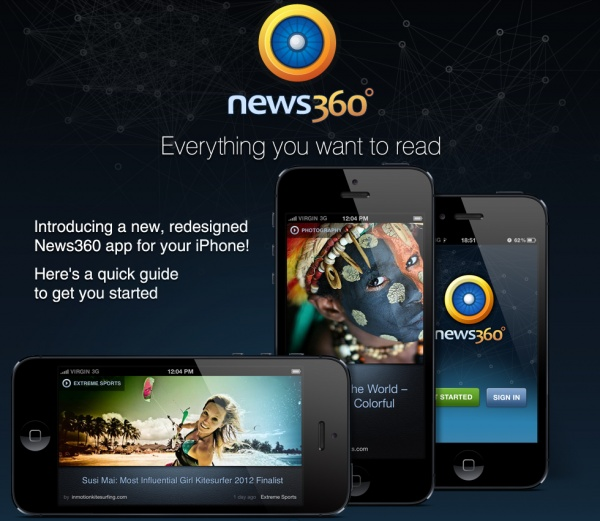 iPhones Everywhere, Meet the Re-Imagined News360!